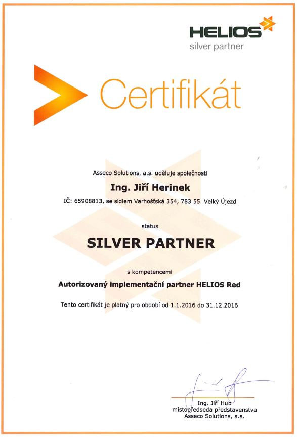 Silver Partner HELIOS Red